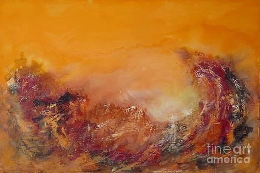 Great earthly flood by Lalo Gutierrez