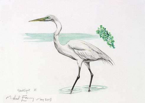 Michael Earney - Great Egret