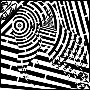 Great Hair Day Maze by Yonatan Frimer Maze Artist