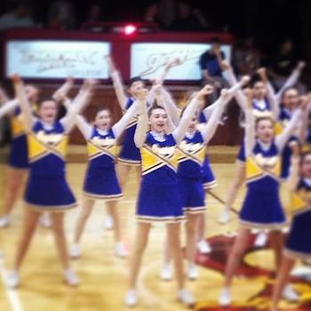 Great Job Cheering Livvy! by Brenda Brolly