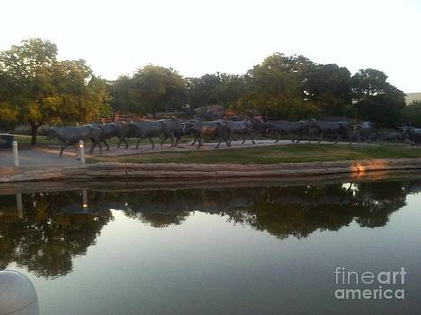 Great Park Sculpture Morning Dallas TX by Vale Tek