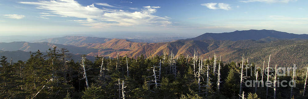 Great Smokie Mountains National Park by Dustin K Ryan