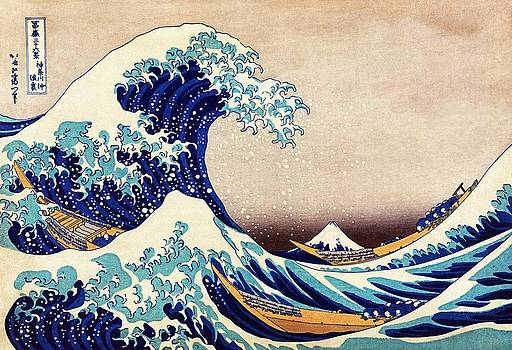 Great Wave Off Kanagawa Japanese Art by Masterpieces Of Art Gallery