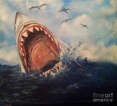 Great white shark by Erik Axebrink