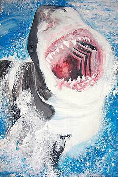 Great White by Siobhan Shene