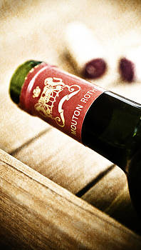 Great Wines Of Bordeaux - Chateau Mouton Rothschild by Frank Tschakert