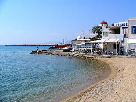 Greece Shoreline by Paul Schoenig