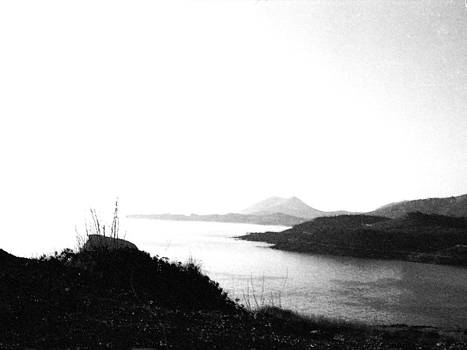 Greek coast near Sounion by Mike McCool