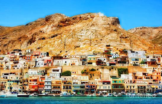 Justyna Jaszke JBJart - Greek Island - Kalymnos