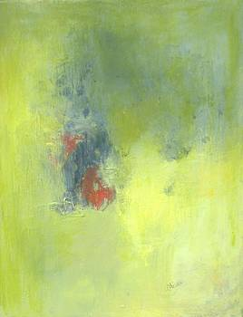 Green Abstract by Andrea Friedell