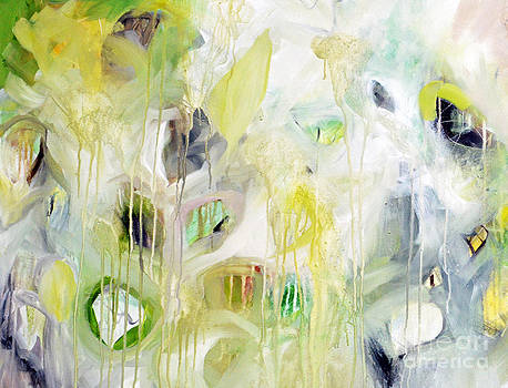 Green Abstract I by Tracy-Ann Marrison