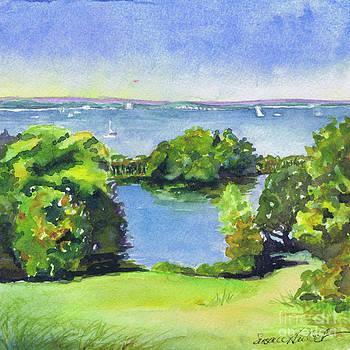 Green and Blue Caumsett by Susan Herbst