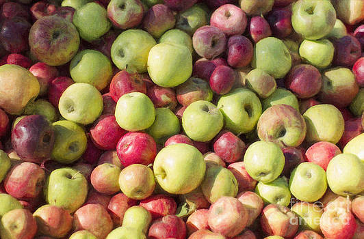Green and Red Apples by Susan Gary