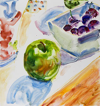 Green apple by Pablo Rivera