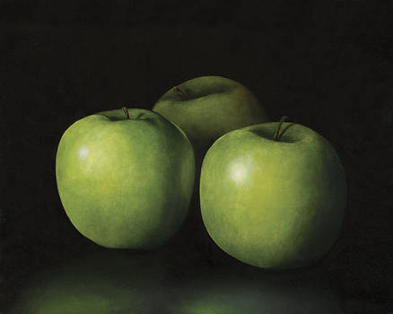 Green Apples by Anthony Enyedy