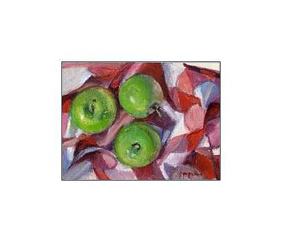 Green Apples by Donna Pomponio Theis