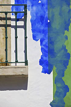 David Letts - Green Balcony of Obidos