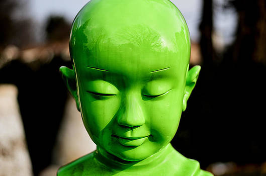 Green Buddha by Steve Stanger