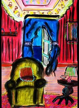Green Chair by Ashley Schutte