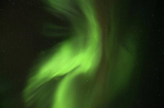 Green Corona by Sigurdur Aegisson