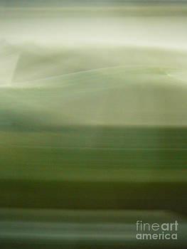 Green Desert Pyramid by Chris Sotiriadis
