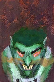 Green Devil by Clauser Oliboni