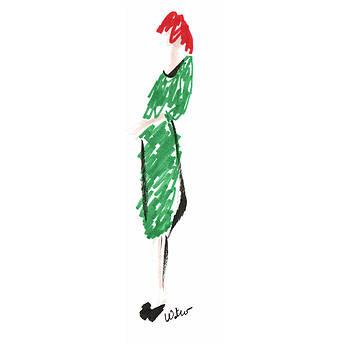 Mark Wilcox - Green Dress 2
