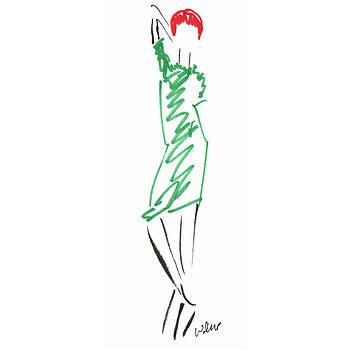 Mark Wilcox - Green Dress 3