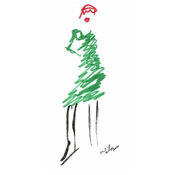 Mark Wilcox - Green Dress 4