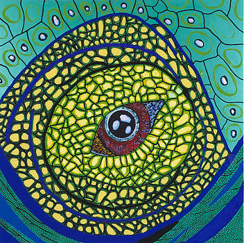 Green Eye by Patrick OLeary