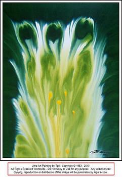 Green Flows - 1 by Tari Steward