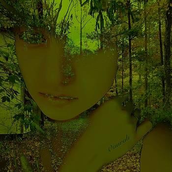 Green Forest by Onurah Art