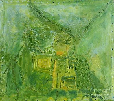 Green garden  by Mada Lina