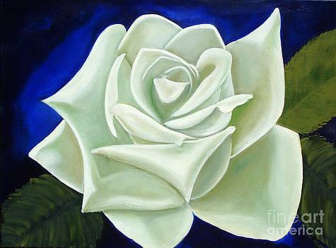 Green Ice Rose by Darlene Green