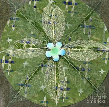 Ellen Miffitt - Green Leaf Mandala