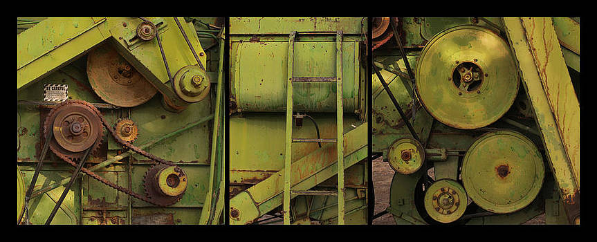 Art Block Collections - Green Machine Triptych
