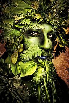 Green Man by Renee Sarasvati