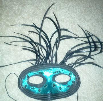Green Mask by Karen Jensen