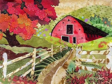 Green Meadows Barn by Susan Minier