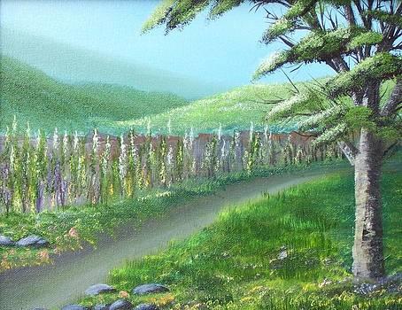 Green Meadows by John Minarcik