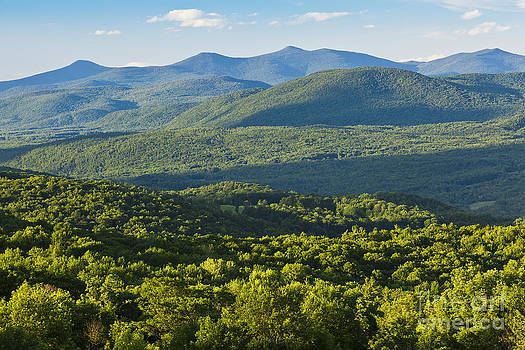 Green Mountains Of Vermont by Alan L Graham