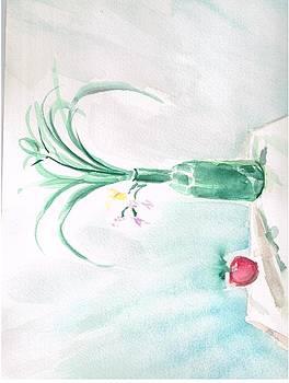 Green Orchid by Valerie VanOrden