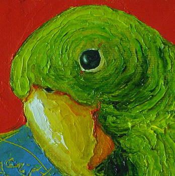 Green Parrot by Paris Wyatt Llanso