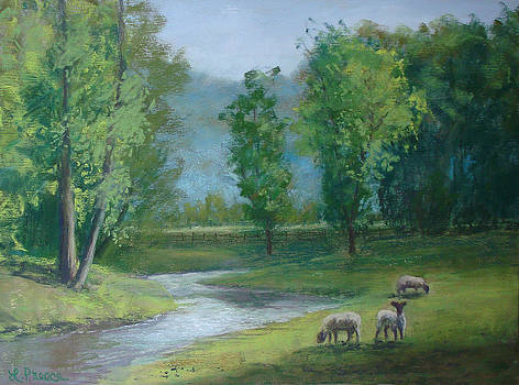 Green Pastures by Linda Preece