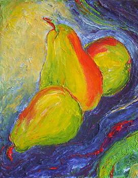 Green Pears II by Paris Wyatt Llanso
