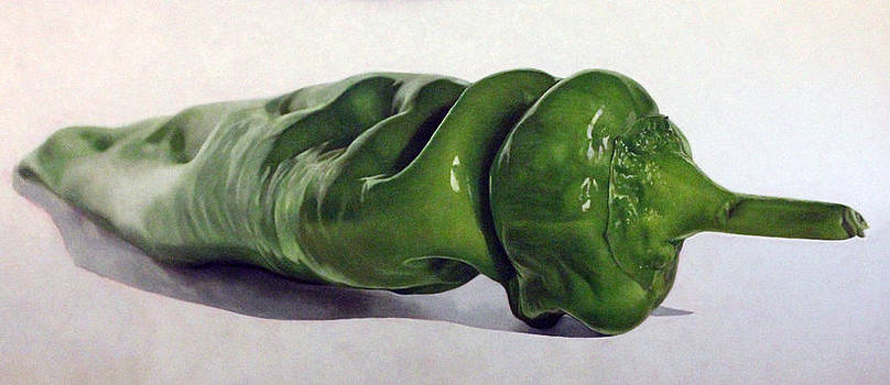 Green Pepper by Toby Boothman