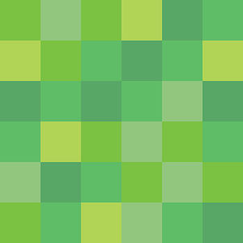 Green Pixel Art by Mike Taylor
