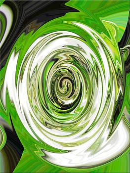 Green Reflections by Ella Char
