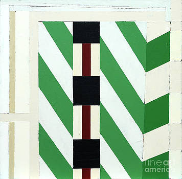 Green Stripes by Barry Treu