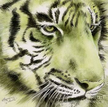 Green Tiger by Summer Celeste